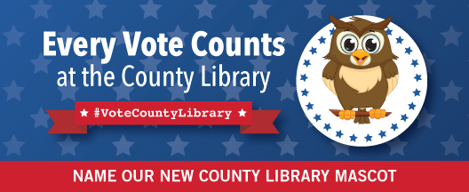 Name Our New County Library Mascot