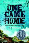 One Came Home cover