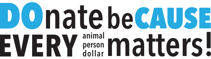 Donate because every animal matters